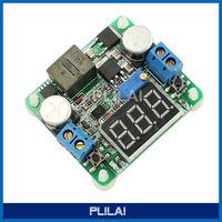 DC 6V/12V/24V Adjustable Step up/down Power Supply Module Boost Buck Voltage Converter Voltmeter Display 5-25V to 0.5-25V 25W 2A