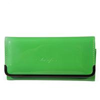 Hot 2014 New Fashion Women's Wallet PU Leather Women Long Wallet Purse Clutch Wallet Coin Purse 9 Colors Wholesale