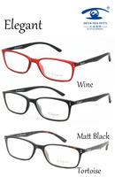 Free Shipping TR90 Optical Glasses Prescription Glasses Designer Elegant Style E1001