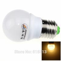 ZHISHUNJIA E27 3W 220lm 3000K 6 x SMD 5630 LED Warm White Light Lamp Bulb - White (AC 85~265V)