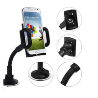 Universal 360 Degree Rotating Car Phone vehicle Mount Stand Holder For iPhone  GPS for Samsung Galaxy  for HTC +Free shipping