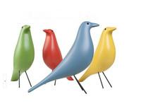 1 piece replica colorful resin eames house bird