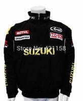 New 2014 Winter Motorcycle Jackets Suzuki Moto GP Man Racing Jacket Cotton Suit Long Sleeve M-XXL Free Shipping
