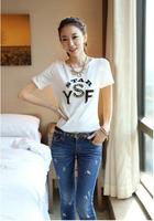summer dress 2014 t-shirt women skirts harajuku crop top fashion punk plus size S-3XL women's clothing