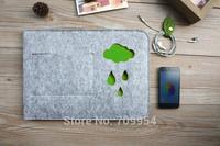 "Woolen Felt Envelope 11""11.6""13""13.3""15""15.4"" Laptop Cover Sleeve Notebook Case Pouch Bag For Macbook Pro Air"