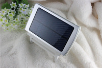 12000MAH  Full Power  Solar Panel  Charger  Portable Battery Power Bank With 6 pcs Connector For Cell Phone, MP3 Camera,iphon