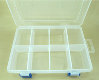 FREE Shipping detachable 8 compartments floss thread bobbin box boxes, can hole 64 bobbins