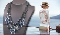 2014 Classic Design Vintage Women Jewelry Necklace Fashion Show