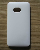 For HTC one M7 pure white 3D DIY sublimation blank shell  case . full area printable free shipping