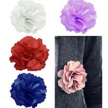 popular silk flower brooch