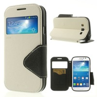 Roar Korea Diary View Window Leather Case for Samsung Galaxy Grand Neo i9060 I9062 / Grand I9082 with Screen Protector (SX87)