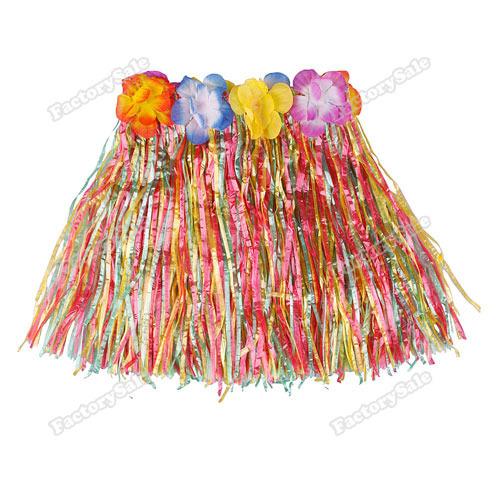 factorysale Hot Hawaiian grama Luau Saia Flores Luau Casamentos Beach Party traje de alta qualidade(China (Mainland))