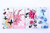 10 color case for samsung Galaxy S2 I9100, fashion flower & Butterfly Luxury Vertical Magnetic Flip case for for S2 I9100 case