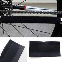 4X Outdoor Bike Bicycle Cycling Frame Chain Guard Care Stay Protector Cover Pad[99697]
