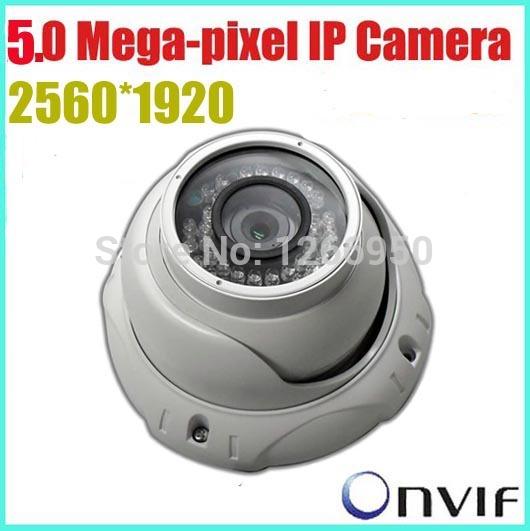 Security IP Camera 5.0 Megapixel camera ip 2592*1920 4/6/8mm Lens H.264 IR Waterproof Optional Camera/Support ONVIF POE Dahua(China (Mainland))