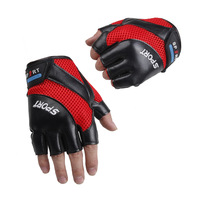Summer fitness ride bicycle semi-finger thin gloves male mountain bike outdoor sportswear bicycle accessories