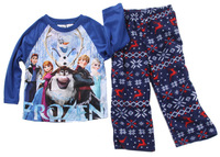 RETAIL !!!!   Boys Frozen Princess kids long sleeve cotton pajama sets  children baby boys girls nightwear sleepwear clothing