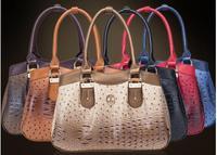 2014 New bag Casual fashion Women's handbags Korean ostrich pattern package high-end shoulder bag crocodile pattern totes 36228