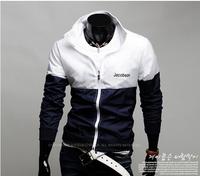 Wholesale 2014 New Men's Sports Jacket Men Splicing Outdoor Zipper Coat  CMR51