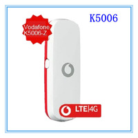 free shipping Vodafone K5006(ZTE) 4G LTE wireless Modem 100Mbps unlocked 4G band (800/1800/2600MHz) PK K5005,E392