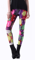 East Knitting 3237 Drop Shipping Fitness for women Rainbow Candy Printed Leggins Digital Printing Food Leggings hip pop Pants