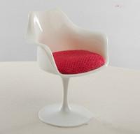 1 piece mini home decoration,  tulip armchair