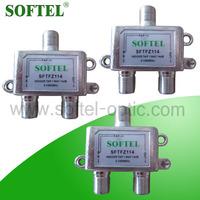 Made in China indoor catv tap, RF indoor catv splitter tap 1/2/3/4/6/8 way