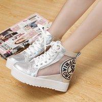 2014 Lacing Gauze Lace Cutout Casual Shoes Women  Platforms Sneakers Shoes Summer Sneakers High Fashion Designer Brands