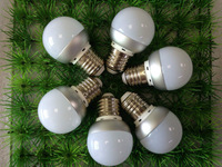 G45 3W mini LED Bulb Free DHL shipping G45 E27 Base warm white or cold white Bulb Lamp aluminum body for home lighting