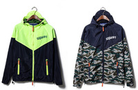 2014 Brand Autumn New Waterproof, breathable Outdoor, mountain hiking, man Camouflage Patchwork jacket coat  CMR56
