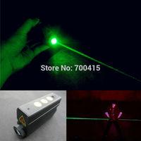 Double slider laser sword handheld green laser props ktv laser pen green light flashlight
