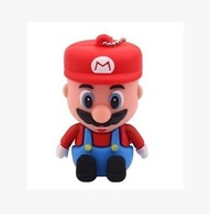 Wholesale! Real cartoon Super Mario 1GB/2GB/4 gb / 8 gb / 16 gb / 32 gb/64GB usb 2.0 memory pen thumb disk / drive / gift
