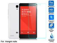 "Tempered glass screen protector for Xiaomi Redmi Note Red Rice Note 5.5"" HD clear film ultra thin guard Anti-Bubble Crystal"