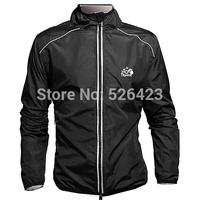 Tour de France Jersey Outdoor Sports Cycling Wind Rain Coat Long Sleeve Jacket