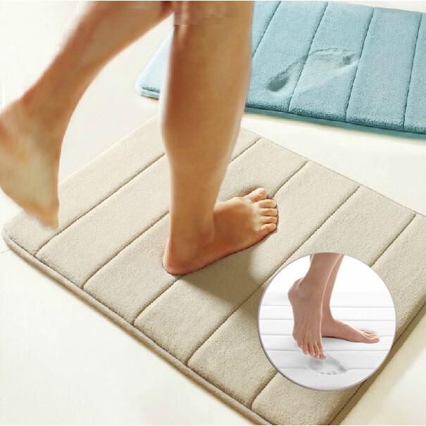 Achetez en gros super absorbant tapis de bain en ligne des grossistes super absorbant tapis de Tapis de bain mousse memoire
