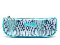 New 2014 women Transparent PVC waterproof long Barreled type handbag Cosmetic bag makeup Cases