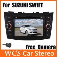Car Head unit for SUZUKI SWIFT  2011-2012, 2din 800mhz cpu car dvd player styling, audio radio,support dvr,3g+Free Rear Camera02