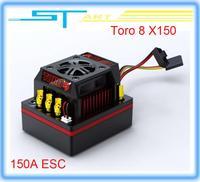 low shipping  Hot Original SKYRC Toro 8 X150 150A ESC for 1/8 Car Brushless Sensored brushless esc for remote control car