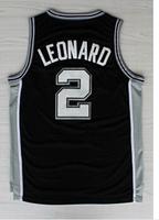 San Antonio 2 Kawhi Leonard FMVP Jerseys, Cheap Basketball Jersey Kawhi Leonard New Rev 30 Embroidery Logo, S-3XL Free Shipping