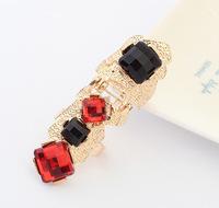 YXSP3016        2014 new fashion   Big exaggerated retro gem      Rings for women