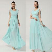 Women Summer Casual Chiffon Long Dresses Lace Stitching Boho Holiday Beach Sundress Party Dress