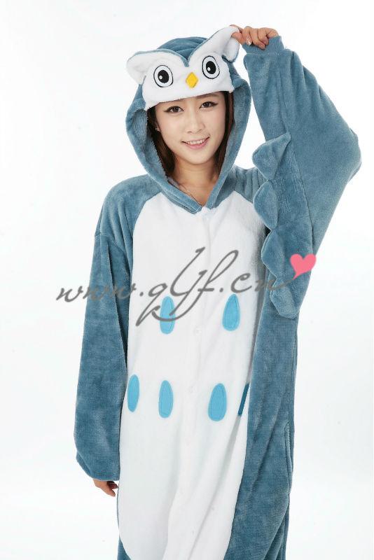 Wholesale Owl Onesies Costume Animal Adult Onesie aanbieding