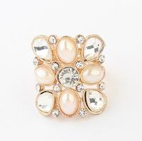 YXSP3013      2014 new fashion    Pearl Beauty geometry       Rings for women
