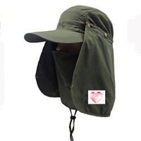 YIM021-5 Brand Outdoor Men/Women Sun Hat Free Shipping Climbing Hiking Quick-Dry Anti-UV Fishing Caps Sun-Proof Travel Hats