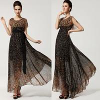 Women Cloak Long Ball Gown Chiffon Chiffon Dresses Party  Evening Formal Sun Beach Dress