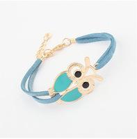 YXSP4504      2014 new fashion    Retro wild owl     Bracelets for women