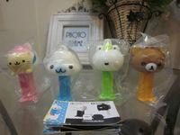 Rare Baidai Monokuro Boo Mini PEZ Dispenser JP Japanese Set Of 4
