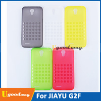 Orginal TPU Soft Phone Cover Jiayu G2F Case silicone case with Mix Color