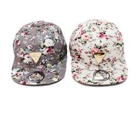 Hater Series Women Casual Floral Print Snapback Caps Good Quality Fashion Summer Sun Hats Hip Hop Bone Baseball Caps For Woman