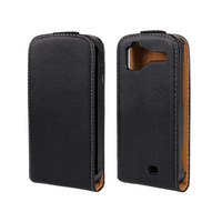 Genuine Leather Flip Case For HTC sensation G14, sensation XE G18 phone cover case